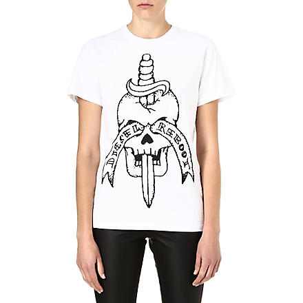 DIESEL Reboot t-shirt (White