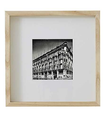 THE WHITE COMPANY Fine wood ash frame 8 x 8