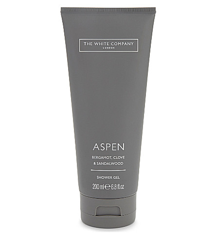 THE WHITE COMPANY Aspen shower gel 200ml (No+colour