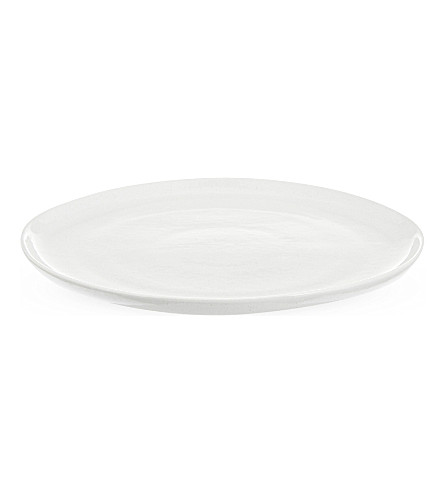 THE WHITE COMPANY Artisan stoneware side plate (White