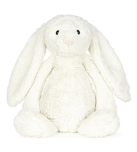 THE LITTLE WHITE COMPANY Bashful bunny soft toy 51cm