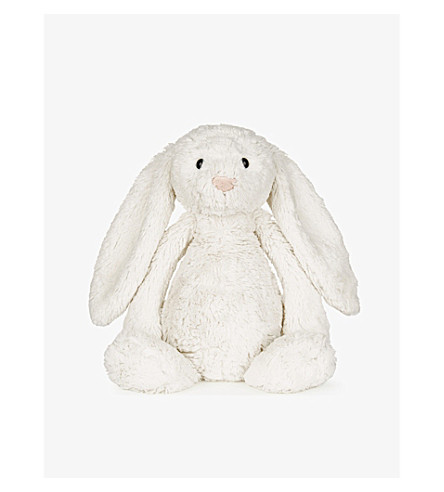 THE LITTLE WHITE COMPANY Bashful bunny soft toy 31cm