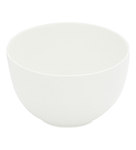 THE WHITE COMPANY Symons Bone China cereal bowl 14cm (White
