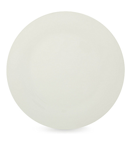 THE WHITE COMPANY Symons Bone China dinner plate 28cm (White