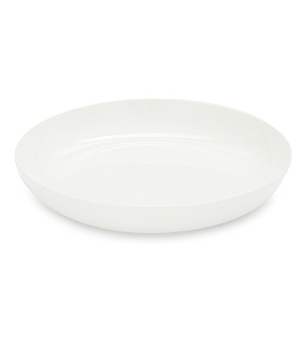 THE WHITE COMPANY Symons Bone China serving bowl 31cm (White