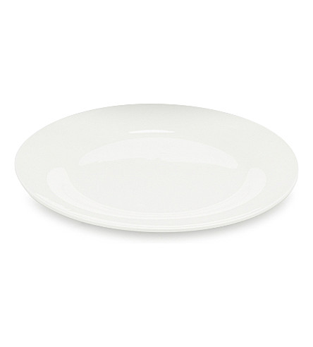 THE WHITE COMPANY Symons Bone China side plate 23cm (White
