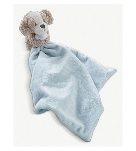 THE LITTLE WHITE COMPANY Bobbie dog comforter (Blue