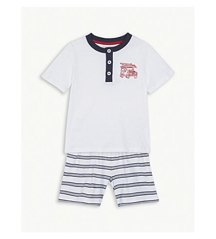 THE LITTLE WHITE COMPANY Beach cruiser cotton pyjamas 1-6 years (Multi
