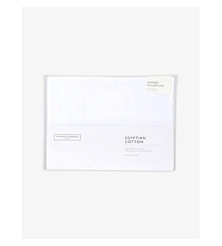 THE WHITE COMPANY Sateen Pillowcase (White