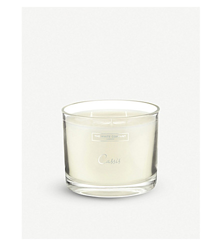 THE WHITE COMPANY Cassis scented large candle 740g