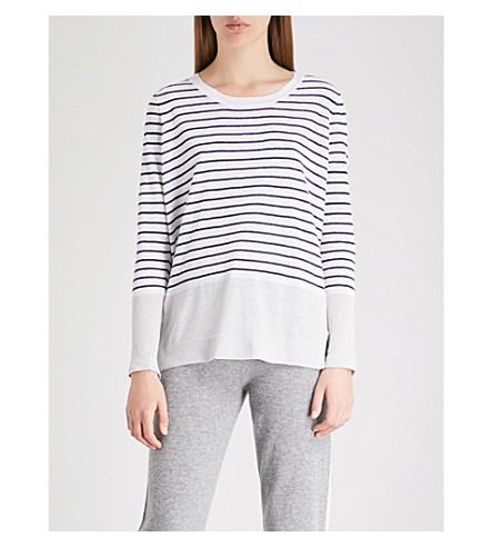 THE WHITE COMPANY Striped linen jumper (Multi