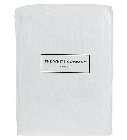 THE WHITE COMPANY Colville duvet (White