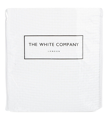 THE WHITE COMPANY Colville large square cushion cover