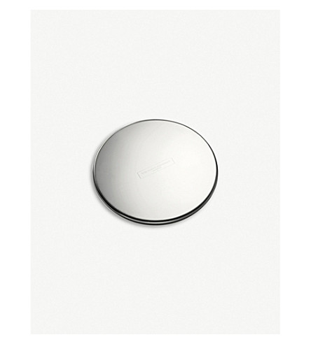 THE WHITE COMPANY Signature candle lid (Silver