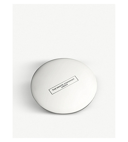 THE WHITE COMPANY Premium candle lid (Silver