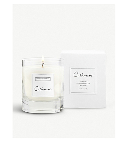 THE WHITE COMPANY Cashmere scented candle 140g (No+colour