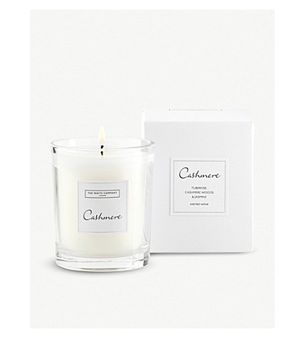 THE WHITE COMPANY Cashmere Votive candle 75g (No+colour