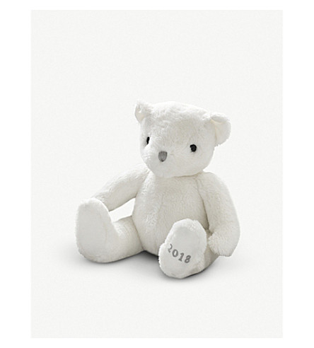 THE LITTLE WHITE COMPANY 2018 Dated Bear (White