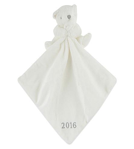 THE LITTLE WHITE COMPANY 2016 bear comforter (White