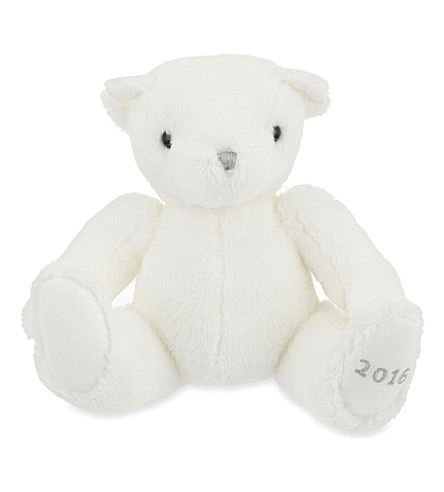 THE LITTLE WHITE COMPANY Little white bear 2016 (White