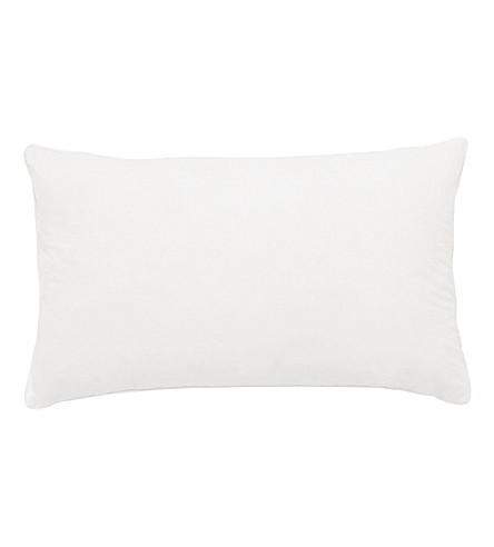 THE WHITE COMPANY Small rectangle duck feather-filled pillow