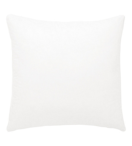 THE WHITE COMPANY Small square duck feather-filled pillow
