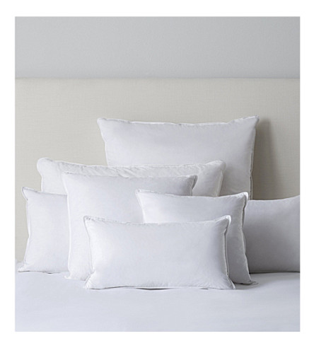 THE WHITE COMPANY Duck feather medium square cushion