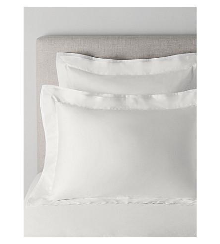 THE WHITE COMPANY Dorchester Oxford pillowcase (White