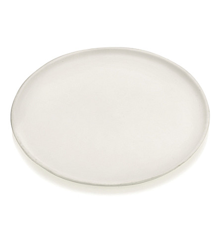 THE WHITE COMPANY Ceramic large botanical plate (No+colour