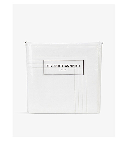 THE WHITE COMPANY Luxury egyptian cotton bath mat (White