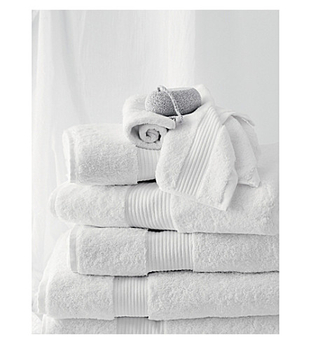 THE WHITE COMPANY Luxury Egyptian cotton super jumbo towel (White