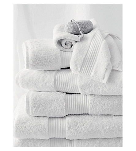 THE WHITE COMPANY Luxury Egyptian cotton bath towel (White