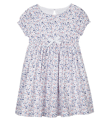 THE LITTLE WHITE COMPANY Esther floral print cotton dress 1-6 years (Multi