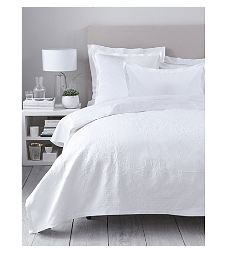 THE WHITE COMPANY Etienne duvet cover (White