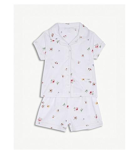 THE LITTLE WHITE COMPANY Freya floral print pyjamas set 1-6 years (Multi