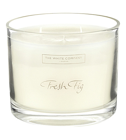 THE WHITE COMPANY Fresh Fig large candle