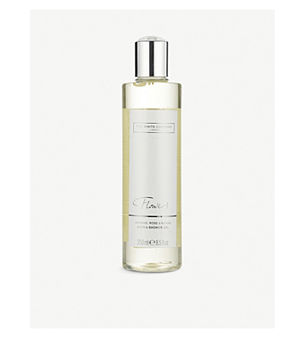 THE WHITE COMPANY Flowers bath & shower gel
