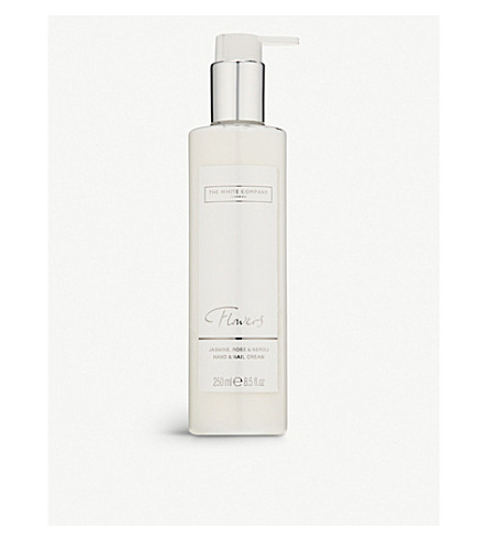 THE WHITE COMPANY Flowers hand & nail cream