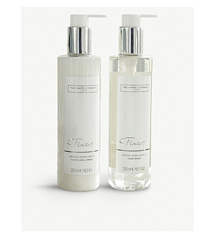 THE WHITE COMPANY Flowers Hand & Nail gift set 500ml
