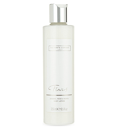 The white company flowers body lotion 250ml selfridges the white company flowers body lotion 250ml mightylinksfo