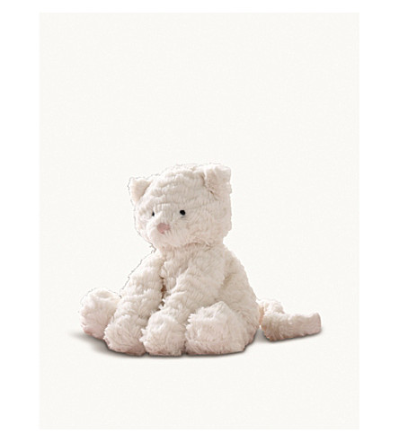 THE LITTLE WHITE COMPANY Jellycat fuddlewuddle kitty (Cream