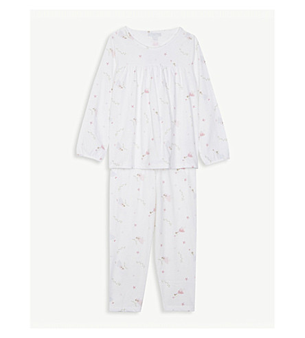 THE LITTLE WHITE COMPANY Fairy print cotton pyjamas 1-6 years (Multi