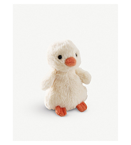 THE LITTLE WHITE COMPANY Fluffy chick (Yellow
