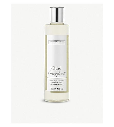 THE WHITE COMPANY Fresh Grapefruit bath and shower gel 250ml (No+colour