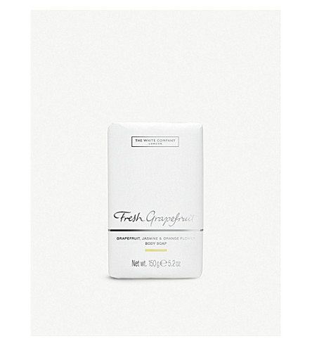 THE WHITE COMPANY Fresh Grapefruit soap 150g (No+colour