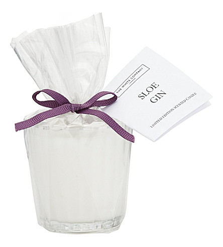 THE WHITE COMPANY Sloe gin votive 60g (No+colour