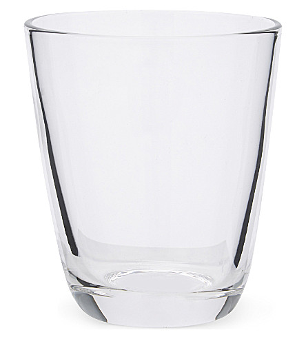 THE WHITE COMPANY Elgin glass tumbler (Clear