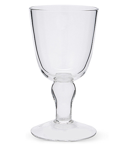 THE WHITE COMPANY Elgin wine glass (Clear
