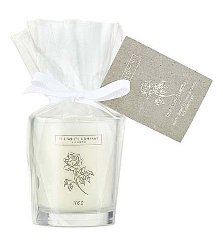 THE WHITE COMPANY Rose Votive Candle 75g (No+colour