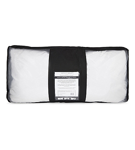 THE WHITE COMPANY Goose Feather & Down super king pillow (No+colour